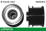 Sprzęgło jednokierunkowe alternatora LUCAS LOPA0133 LUCAS LOPA0133