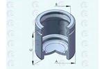 Tłoczek zacisku hamulca ERT 151259-C ERT 151259-C