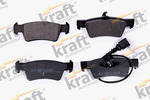 Klocki hamulcowe - komplet KRAFT AUTOMOTIVE 6010908 KRAFT AUTOMOTIVE 6010908
