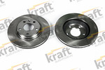 Tarcza hamulcowa KRAFT AUTOMOTIVE 6040280 KRAFT AUTOMOTIVE 6040280