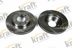 Tarcza hamulcowa KRAFT AUTOMOTIVE 6042600 KRAFT AUTOMOTIVE 6042600
