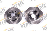 Tarcza hamulcowa KRAFT AUTOMOTIVE 6043140 KRAFT AUTOMOTIVE 6043140