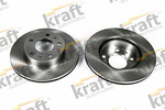 Tarcza hamulcowa KRAFT AUTOMOTIVE 6045820 KRAFT AUTOMOTIVE 6045820