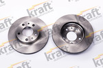 Tarcza hamulcowa KRAFT AUTOMOTIVE 6045909 KRAFT AUTOMOTIVE 6045909