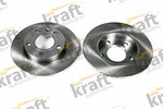 Tarcza hamulcowa KRAFT AUTOMOTIVE 6050190 KRAFT AUTOMOTIVE 6050190