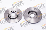 Tarcza hamulcowa KRAFT AUTOMOTIVE 6055570 KRAFT AUTOMOTIVE 6055570