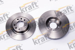 Tarcza hamulcowa KRAFT AUTOMOTIVE 6055672 KRAFT AUTOMOTIVE 6055672