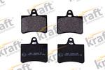 Klocki hamulcowe - komplet KRAFT AUTOMOTIVE 6006135 KRAFT AUTOMOTIVE 6006135