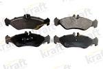 Klocki hamulcowe - komplet KRAFT AUTOMOTIVE  6011091 (Oś tylna)