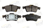 Klocki hamulcowe - komplet KRAFT AUTOMOTIVE  6015105 (Oś tylna)-Foto 2