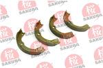 Szczęki hamulcowe hamulca postojowego - komplet SAKURA 602-05-4622 SAKURA 602-05-4622