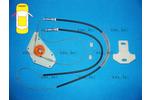 Zestaw naprawczy, podnożnik szyby BLIC  6205-28-102801P (Z lewej)-Foto 2