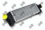Chłodnica powietrza doładowującego - intercooler ABAKUS 017-018-0006 LORO 017-018-0006