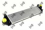 Chłodnica powietrza doładowującego - intercooler ABAKUS 017-018-0007 LORO 017-018-0007