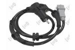 Czujnik prędkości obrotowej koła (ABS lub ESP) ABAKUS  120-03-077 (Tylna Oś, po obydwu stronach)