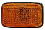 Lampa kierunkowskazu ABAKUS  215-1422N-AE-Y (Z przodu) (Instalowanie boczne)