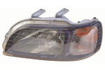 Reflektor HONDA CIVIC - 09/94-01/97 H4 l ewy, z wbudowanym kierunkowskazem, regulacja elektryczna, Li