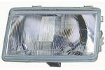 Reflektor RENAULT 21 - 03/86-09/89 H4 le wy, regulacja manualna /DEPO/
