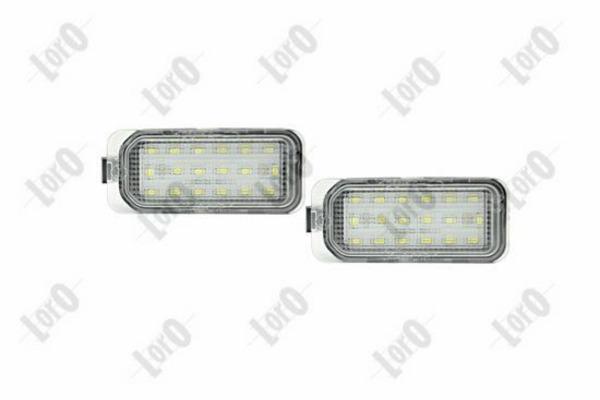 Oświetlenie Tablicy Rejestracyjnej Abakus L17 210 0004led Z
