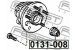 Miska odpływowa, korpus osi FEBEST  0131-008-Foto 2