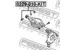 Śruba do regulacji pochylenia koła FEBEST  0229-010-KIT-Foto 2
