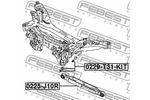 Śruba do regulacji pochylenia koła FEBEST  0229-T31-KIT-Foto 2