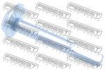 Śruba do regulacji pochylenia koła FEBEST 0429-004 FEBEST 0429-004