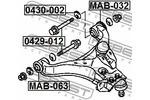 Śruba do regulacji pochylenia koła FEBEST  0429-012-Foto 2