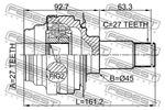 Przegub napędowy FEBEST  1611-212R (Oprawa skrzyni biegów) (Oś tylna)-Foto 2