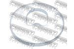 Miska odpływowa, korpus osi FEBEST 2130-001 FEBEST 2130-001