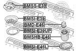 Osłona amortyzatora FEBEST  BMSHB-E46 (Oś przednia)-Foto 2