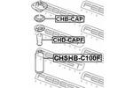 Osłona amortyzatora FEBEST  CHSHB-C100F (Oś przednia)-Foto 2