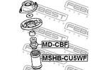 Odbój amortyzatora FEBEST  MD-CBF (Oś przednia)-Foto 2