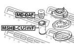 Odbój amortyzatora FEBEST  MD-DAF (Oś przednia)-Foto 2