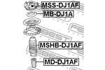 Odbój amortyzatora FEBEST  MD-DJ1AF (Oś przednia)-Foto 2