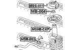 Osłona amortyzatora FEBEST  MSHB-CKF (Oś przednia)-Foto 2