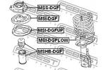 Osłona amortyzatora FEBEST  MSHB-DGF (Oś przednia)-Foto 2