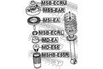 Osłona amortyzatora FEBEST  MSHB-E55R (Oś tylna)-Foto 2