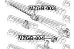 Zawieszenie, przekładnia kierownicza FEBEST  MZGB-003-Foto 2