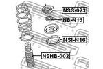 Osłona amortyzatora FEBEST  NSHB-002 (Oś przednia)-Foto 2
