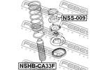 Osłona amortyzatora FEBEST  NSHB-CA33F (Oś przednia)-Foto 2