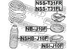 Osłona amortyzatora FEBEST  NSHB-J10F (Oś przednia)-Foto 2