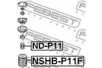 Osłona amortyzatora FEBEST  NSHB-P11F (Oś przednia)-Foto 2