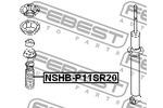 Osłona amortyzatora FEBEST  NSHB-P11SR20 (Oś przednia)-Foto 2