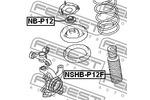 Osłona amortyzatora FEBEST  NSHB-P12F (Oś przednia)-Foto 2