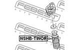 Osłona amortyzatora FEBEST  NSHB-TINOR (Oś tylna)-Foto 2