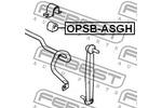 Tuleja stabilizatora FEBEST  OPSB-ASGF (Oś przednia po obydwu stronach)