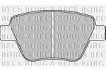 Klocki hamulcowe - komplet BORG & BECK BBP2242 BORG & BECK BBP2242