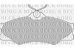 Klocki hamulcowe - komplet BORG & BECK BBP1175 BORG & BECK BBP1175