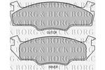 Klocki hamulcowe - komplet BORG BECK BBP1226
